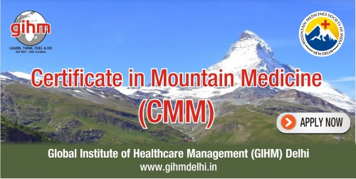 Certificate in Mountain Medicine (CiMM)