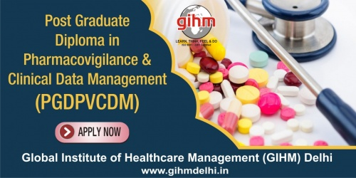 Post Graduate Diploma in Pharmacovigilance & Clinical Data Management (PGDPVCDM)