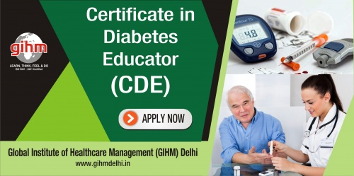 Certificate in Diabetes Educator (CDE)