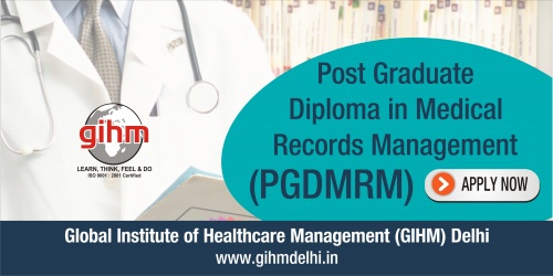 Post Graduate Diploma in Medical Records Management (PGDMRM)