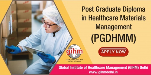 Post Graduate Diploma in Healthcare Materials Management (PGDHMM)