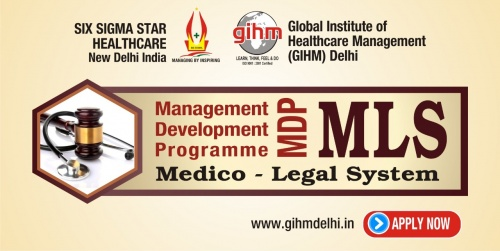 Management Development Programme (MDP) : Medico Legal System