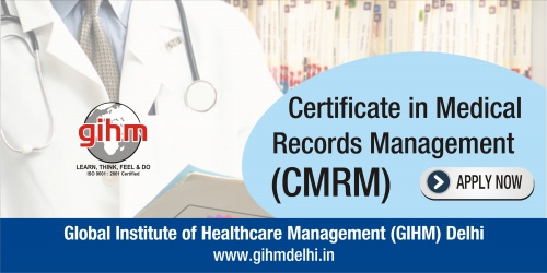 Certificate in Medical Records Management (CMRM)