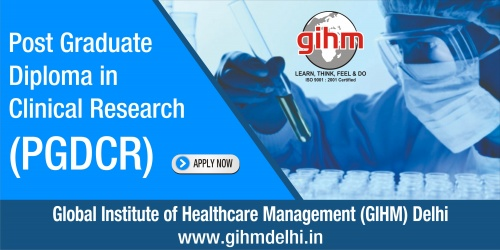 Post Graduate Diploma in Clinical Research (PGDCR)