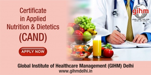 Certificate in Applied Nutrition & Dietetics (CAND)