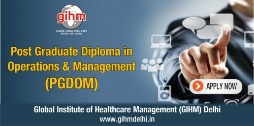 Post Graduate Diploma in Operations & Management (PGDOM)