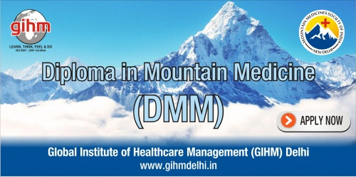 Diploma in Mountain Medicine (DiMM)
